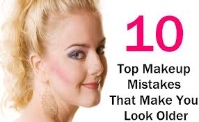 10 top makeup mistakes that make you look older