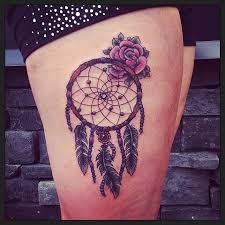Purple Dream Catcher Tattoo Crimson Empire Tattoo 57