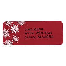 Christmas Address Labels Holiday Address Labels