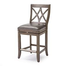 Full Size of Bar Stools:kitchen Stuff Plus Demi Brown Tufted Faux Leather Barstool  Counter ...