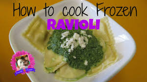 how to cook frozen ravioli five cheese