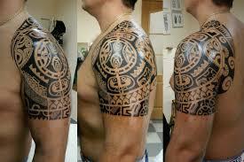 тату полинезия на плече мужские татуировки на плече мужские и