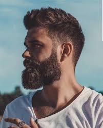 Coupe Homme Barbe Et Cheveux Une Combinaison Au Poil
