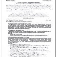 92 Account Manager Resumes Examples Resume Sample Key Account