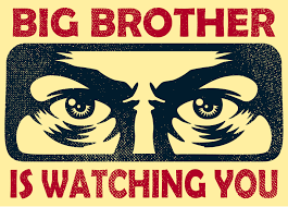 Big Brother - 1984 George Orwell Science Fiction-Klassiker