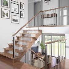 verona glass barade panel stair