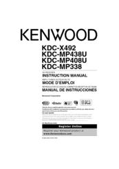 kenwood kdc mp438u radio cd manuals kenwood kdc mp438u radio cd instruction manual