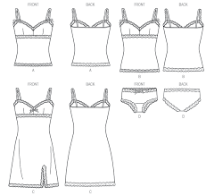 Lingerie Patterns New Gertie's New Blog For Better Sewing My Butterick Lingerie Pattern