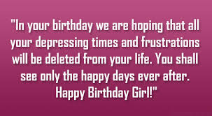 Birthday Quotes For A Beautiful Girl Best of Happy Birthday Pretty Lady Quotes On QuotesTopics