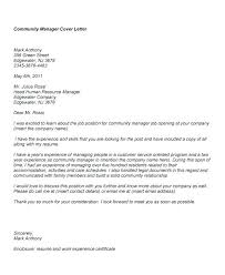 Management Cover Letter Examples Resume Examples Resume Cover Letter