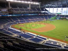 Marlins Ballpark Seat Views Section By Section