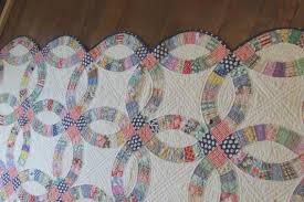 Easy Double Wedding Ring Quilt Pattern | Double wedding rings and ... & Easy Double Wedding Ring Quilt Pattern Adamdwight.com