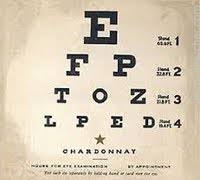 Wine With Eye Chart Label Eye Chart Wines Chardonnay California Prices Stores
