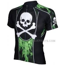 Jolly Roger Mens Cycling Jersey By Primal Wear