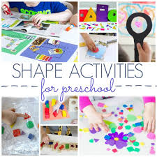Shapes Chart For Nursery Shapes Activities For Preschoolers Pre K Pages