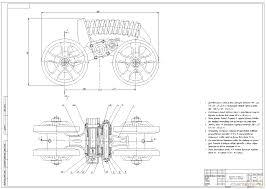 Дипломный проект Модернизация каретки подвески гусеничного  Дипломный проект Модернизация каретки подвески гусеничного трактора 3 4 класса тяги