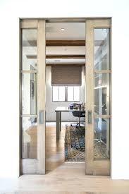 glass pocket doors wood and office external sliding uk