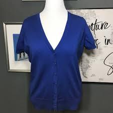 Talbots Dress Size Chart Reduced Nwt Talbots Woman Blue Cardigan Size X Nwt