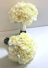 carnation bouquets for weddings white bouquet wedding joshuagray co