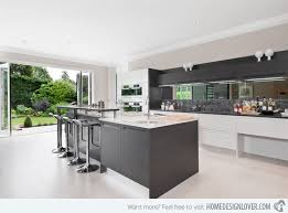 design of open kitchen