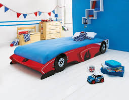 This fun red-painted children's racing car bed from Argos is perfect for  any car-loving child! | bokie | Pinterest | Car bed, Red paint and Argos