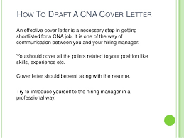 Cna Resume Cover Letter Examples Certified Nursing Assistant