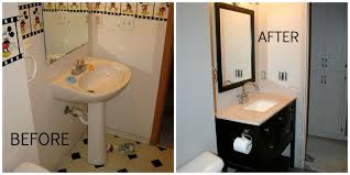 small bathrooms before and after. andover guest bathroom remodel   construction2style small bathrooms before and after