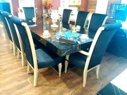 8 person square glass dining table 80cm and chairs round tables for kitchen remarkable a
