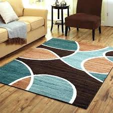 blue and brown area rug with leaves excellent tan rugs ideas regarding rust in better homes