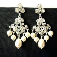outstanding best chandelier pearl earrings for wedding s on