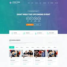 Event Website Template Simple 28 Event Planning Website Themes Templates Free Premium Templates