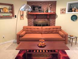burnt orange furniture. Simple Orange This Burnt Orange Terra Cotta Color Is My Favorite Tone For Warming Up A  Room Mid Century Modern Style Sofa Was Manufactured By Kroehler Furniture  On Orange Furniture C