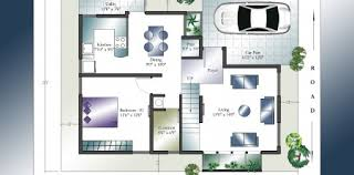 X House Plan   East Facing House Plan   Home Plans India X House Plans   East Facing Storey House