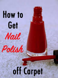 Getting nail polish out of carpet Carpet Cleaner You Drop The Nail Polish And Your Heart Sinks As The Bright Red Polish Soaks Into Your White Carpet What Now Here Are The Five Best Ways To Remove Nail Pinterest How To Get Nail Polish Out Of Carpet Cleaning Pinterest