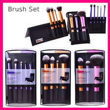 real techniques brush set gold. real techniques makeup brushes starter kit sculpting powder blush foundation set brush gold