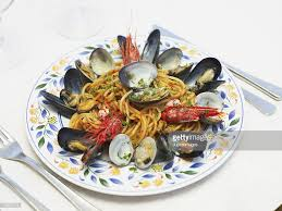 Italian Seafood Pasta High-Res Stock ...
