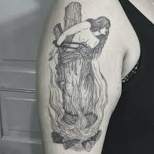 44 Stylish Witch Tattoo Designs Ideas Vis Wed