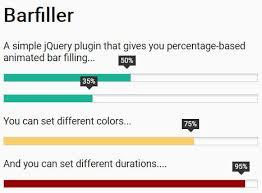 Progress Bar Chart Js Responsive Animated Progress Bar With Jquery And Css3