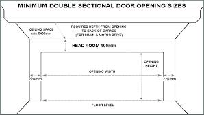 garage door opening size single garage doors sizes double garage door dimensions garage door standard garage