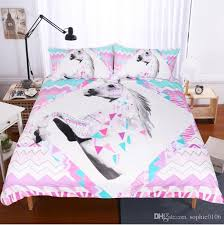 king size pillow shams 3d unicorn bedding sets duvet covers for twin king size bed europe