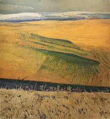 george carlson steptoe e 42x39 oil on linen western landscapelandscape artworktextured paintingoil