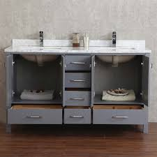 gray double sink vanity. double bathroom vanities sink vanity - best gray