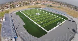 Alta Loma HS CA Artificial Turf Football Soccer Field Sports