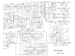 At and atx pc puter supplies schematics adorable pc power in supply wiring diagram