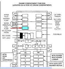 i have a 98 ford windstar v6 air & auto having problems with no 1996 ford windstar fuse box diagram at 98 Ford Windstar Fuse Box