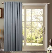 Decorations:Exquisite French Door Curtain Design With Cool Blue Color Idea  Decorating Window Curtain Ideas
