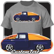 Custom Art T-Shirt 56 1956 Ford F-100 F100 F-250 Mercury M-100 | Etsy