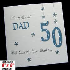 personalised handmade birthday card dad