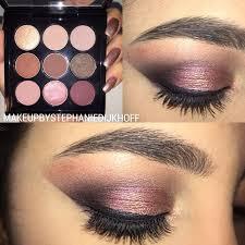 <b>Burgundy</b> Times Nine <b>Makeup</b> Look.. #<b>MAC</b> #<b>palette</b> #pink #purple ...