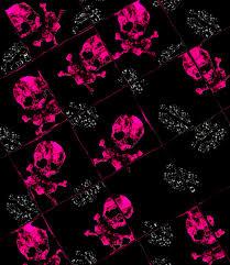 barbaraaldrettedeviantartcomartpink skull wallpaper 02 99009352